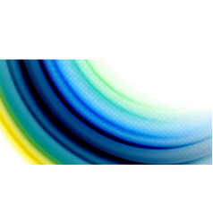 gel jelly fluid flowing liquid rainbow style vector image