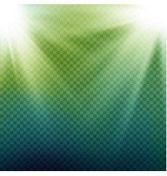 light beam rays light effect rays vector image vector image