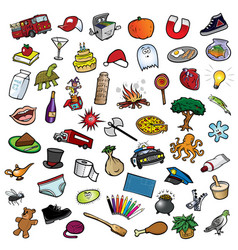 random collection ii vector image