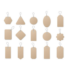 Sale tag and labels template set price tag vector