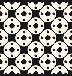 Simple geometric seamless pattern funky style vector