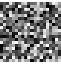 Abstract gray pixel background vector image vector image