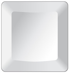 Empty Keyboard Key vector image vector image