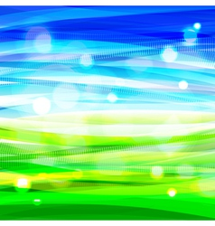 Bright colorful shiny summer background vector image