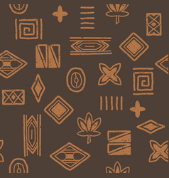african-pattern-05 vector image