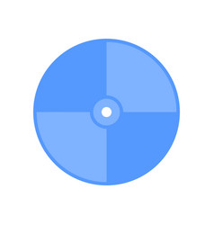 cd disk icon vector image