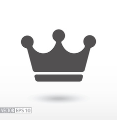 Crown - flat icon vector