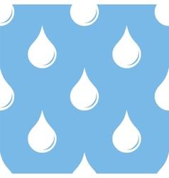 Drop seamless pattern vector image