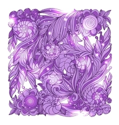 Fairy hand drawn doodle style bandana vector image