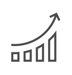 Increase concept icon vector