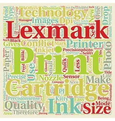 Lexmark Relatively new to the market but already vector