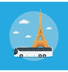 paris travel vector image