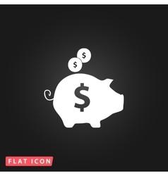 Piggy money bank vector
