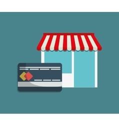 shopping buy digital marketing vector image