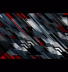 Stripe and lines dark background vector