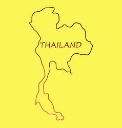 Thailand geometric concept design vector