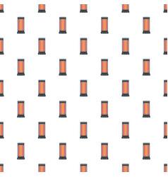 warm heater pattern seamless vector image