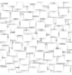 white rectangle seamless abstract pattern vector image