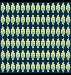 abstract rhombus shape pattern design background vector image