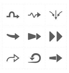 9 new simple arrows vector