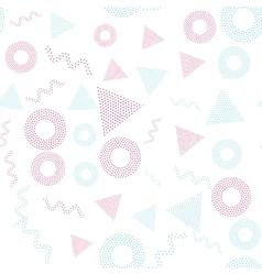 Color universal geometric seamless pattern vector