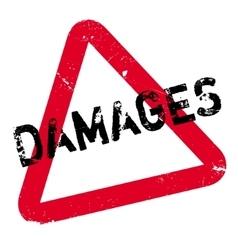 Damages rubber stamp vector