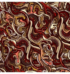 Decorative ornamental ethnic pattern vector