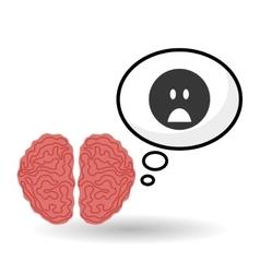 Think negative design postive and idea concept vector image