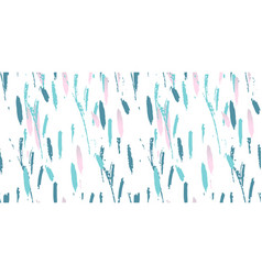 trendy abstract seamless pattern vector image