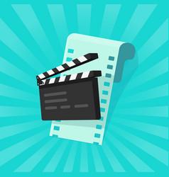 movie or online cinema concept vector image