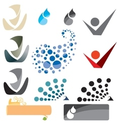symbols and banners vector image