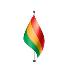 bolivia flag vector image