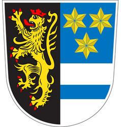Coat of arms of neustadt an der waldnaab in upper vector