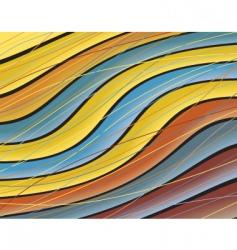 color wave vector image