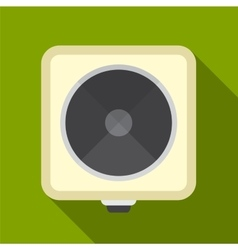 Electric cooker flat icon vector