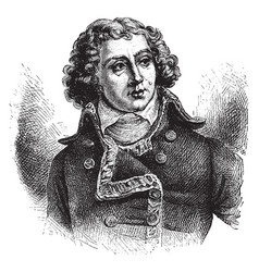 General alexander berthier vintage vector