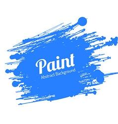 Grunge Paint Splat vector