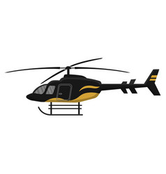 Multipurpose helicopter icon isolated on white vector