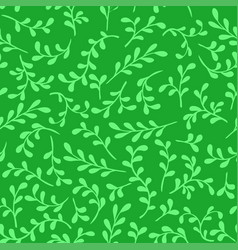 pattern seamless decorative branches vector image