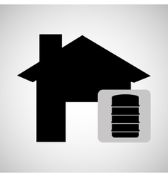 repair concept house icon graphic vector image
