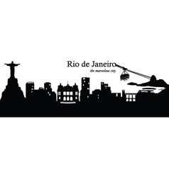 Rio de janeiro vector