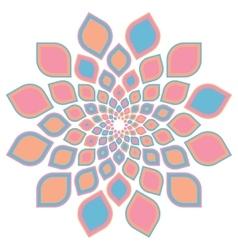 Traditional muslim ornament vector