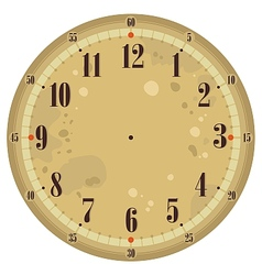 Vintage Clock Face vector image