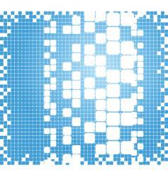 pixel grid vector image vector image
