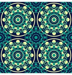 seamless pattern dark vector image vector image
