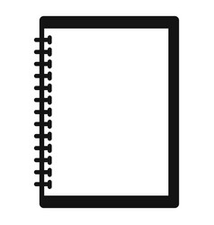 sketchbook icon simple style vector image