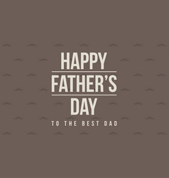 Collection card father day background vector