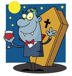 Halloween Vampire vector image