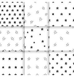 Hand-drawn pattern Scandinavian vector