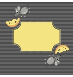 Mouse frame vector image